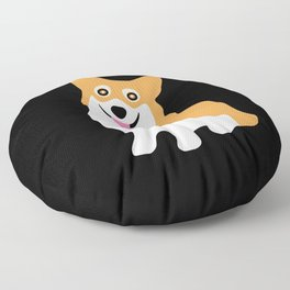 Cute Little Corgi Floor Pillow