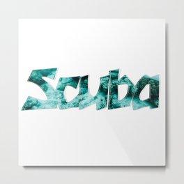 Scuba Metal Print