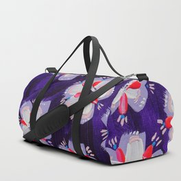 September Violet Duffle Bag