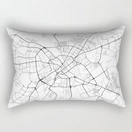 Minimal City Maps - Map Of Minsk, Belarus. Rectangular Pillow