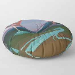 Becoming Earth Floor Pillow