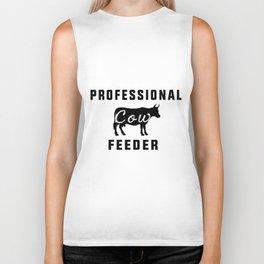 profesional feeder cow buffalo Biker Tank