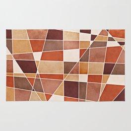 Cubist Autumn Rug