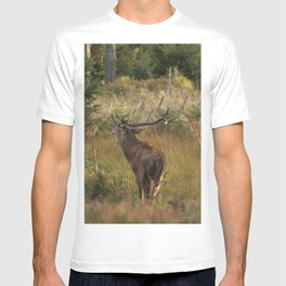 Red deer, rutting season T-shirt