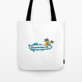 Clearwater Beach - Florida. Tote Bag