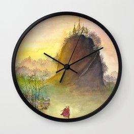 Mount Popa Wall Clock