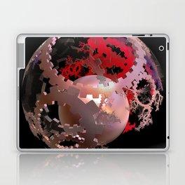 Pretty in Pink Cogs Laptop & iPad Skin