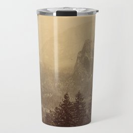 Yosemite Valley from Inspiration Point Travel Mug