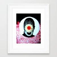 cyclops Framed Art Prints featuring CYCLOPS by Moni Wilk
