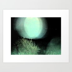 Dark Night Part 2 Art Print