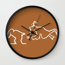 La Linea 2 Wall Clock