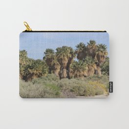Path Through San Andreas Fault Desert Oasis 2 Coachella Preserve Carry-All Pouch