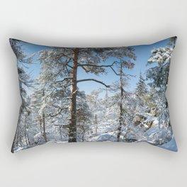 Winter in March Rectangular Pillow