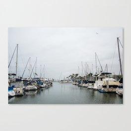California Harbor Canvas Print