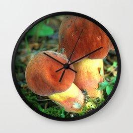 Mushroom F Wall Clock