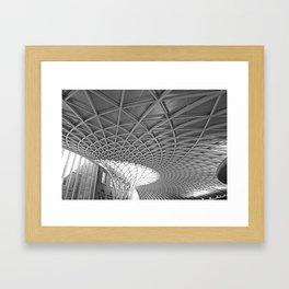 King's Cross Station Framed Art Print