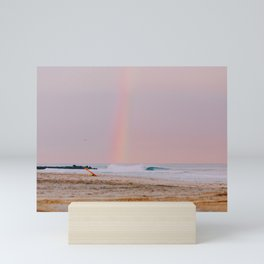 rainbow ii Mini Art Print