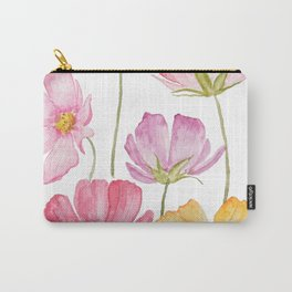 colorful cosmos flower Carry-All Pouch