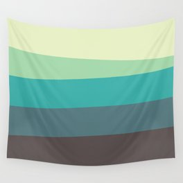 Green Tone Wall Tapestry