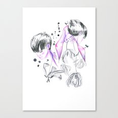 worried about Canvas Print