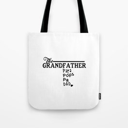 The Grandfather Tote Bag