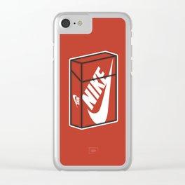 Smoke Box 3 Clear iPhone Case
