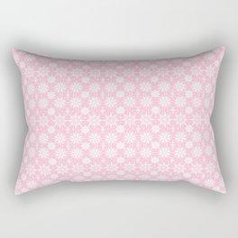 Christmas Pink stars, holiday gift for her, christmas gift for her, girls, mom, pretty Rectangular Pillow