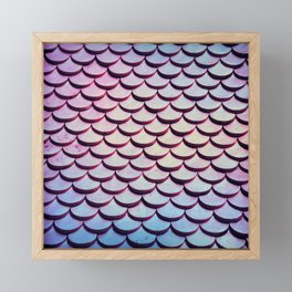 Mermaid Scales Framed Mini Art Print