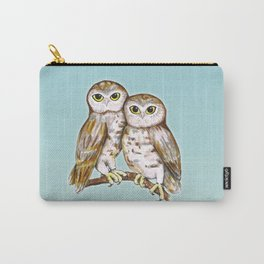 Two cute owls Carry-All Pouch