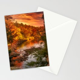 A Touch of Autumn Stationery Cards
