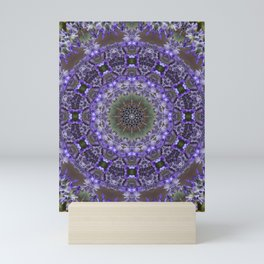Lavender Kaleidoscope Mini Art Print