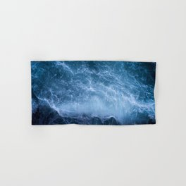 Waves from above Hand & Bath Towel
