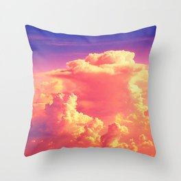 Sunset Sky of Dreams Throw Pillow