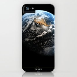 NASA Hubble Space Telescope Poster - Hubble Views of the Universe - Earth iPhone Case