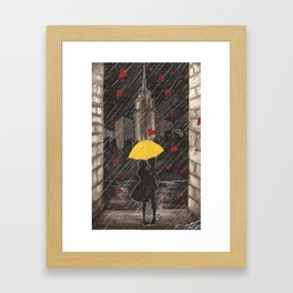 Right Time, Right Place Framed Art Print