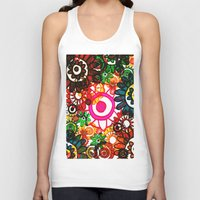 hippy Tank Tops featuring Hippy Shake! by Charlotte Douthwaite