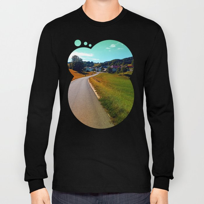 Country road, take me nowhere Long Sleeve T-shirt