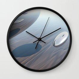 Escaping Area 51 Wall Clock