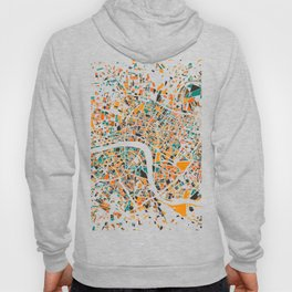 London Mosaic Map #4 Hoody