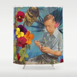 G'mo [ GMO Homo ] Shower Curtain