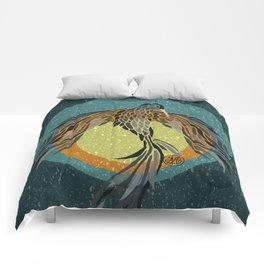 Shadow Phoenix Comforters