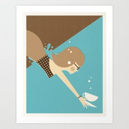 Fresh Coffee Art Print