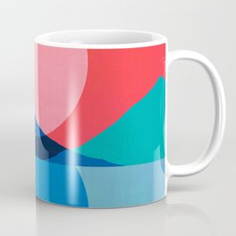 Abstraction_Mountains_SUNSET_Reflection Coffee Mug