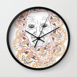 Babushka Wall Clock