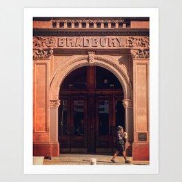 Bradbury Art Print