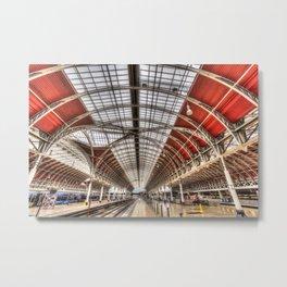 Paddington Station London Metal Print