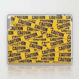 Caution Laptop & iPad Skin