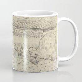 Landscape with Peasant Women Harvesting Coffee Mug