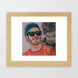 Fake You Out  Framed Art Print