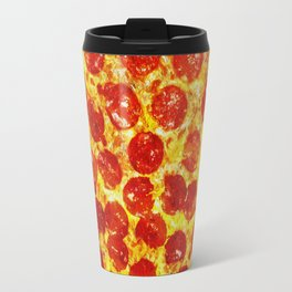 Pizza Art Travel Mug